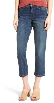 Women's Nydj Marilyn Relaxed Stretch Capri Jeans $98 thestylecure.com