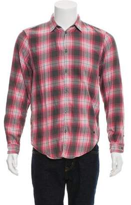 Marc by Marc Jacobs Classic Fit Plaid Button-Up