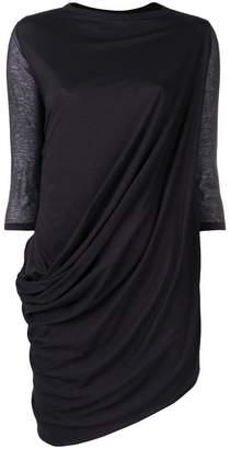 Rick Owens Lilies asymmetric long top