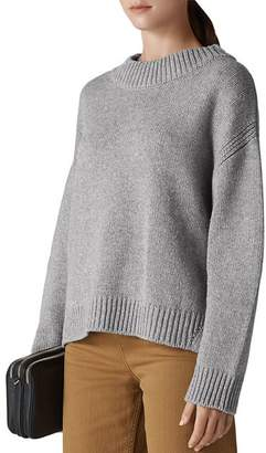 Whistles Chunky Cropped Sweater