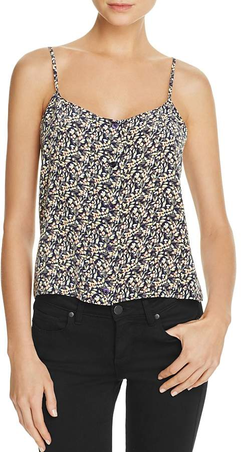 Equipment Equipment Perrin Floral Print Camisole