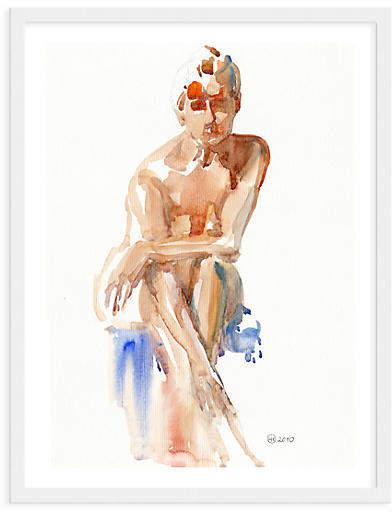 Woman Leaning Forward - Helen Strom - 40