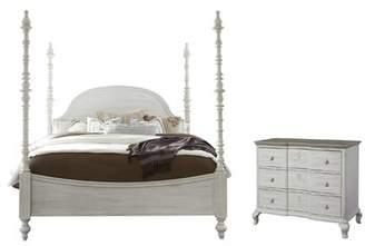 Paula Deen Home Dogwood Four Poster Configurable Bedroom Set