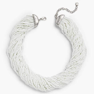 Talbots Multi-Strand Seed Bead Necklace