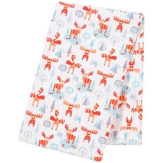 Trend Lab TREND LAB, LLC Winter Moose Jumbo Flannel Swaddle Blanket