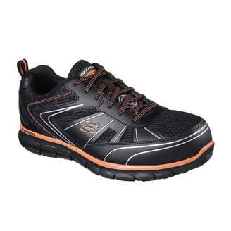 Skechers Mens Fosston Oxford Shoes Steel Toe