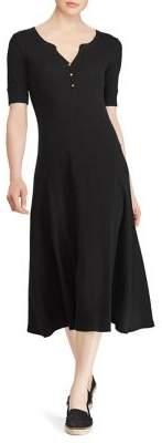Lauren Ralph Lauren Petite Elbow-Sleeve Dress