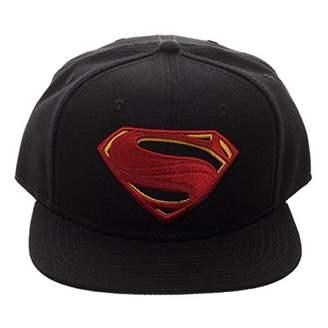 Bioworld DC Comics Justice League Movie Superman Icon Embroidered Snapback