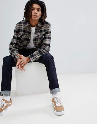 Brixton Checked Bowery Shirt In Standard Fit