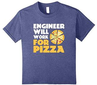 Engineer Will Work for Pizza T-Shirt
