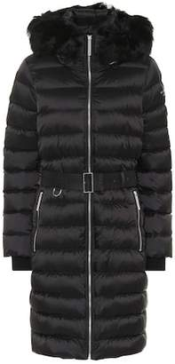 Burberry (バーバリー) - Burberry Shearling-trimmed down coat