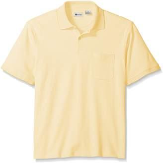 Haggar Men's Short Sleeve Minibox Knit Polo