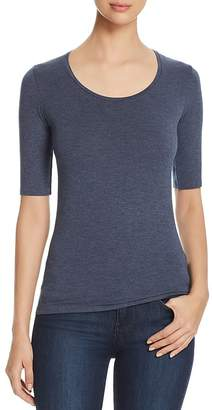 Majestic Filatures Fitted Scoop Neck Tee