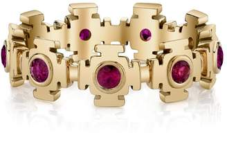 ARK Fine Jewelry Ruby Gateways Eternity Ring - Yellow Gold