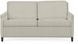 Serena & Lily Spruce Street 2-Seat Sleeper with Nailheads