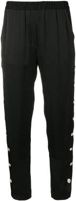 Just Cavalli side button track pants
