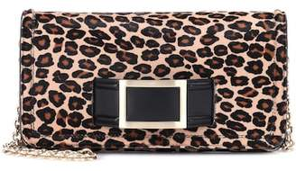Roger Vivier Keep It Viv' Calf Hair Clutch