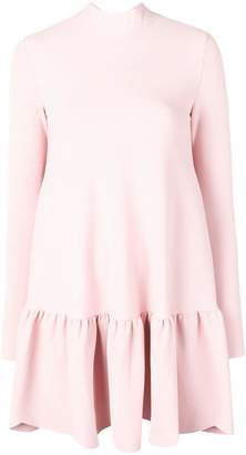 Valentino scallop hem mini dress