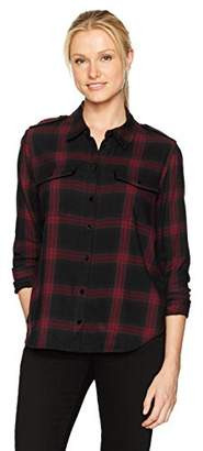 Paige Women's Adilene Shirt with Velvet Piping
