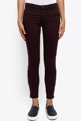 Blank NYC Twill Skinny Pant with Ankle Zips