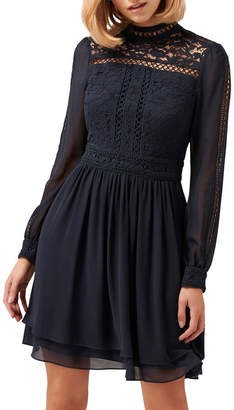 Forever New Laurina Lace Skater Dress