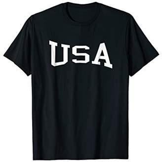 USA Vintage Retro Sports USA Gift T-Shirt