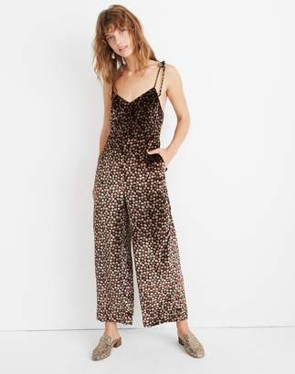 Madewell Velvet Thistle Cami Jumpsuit in Petite Blooms
