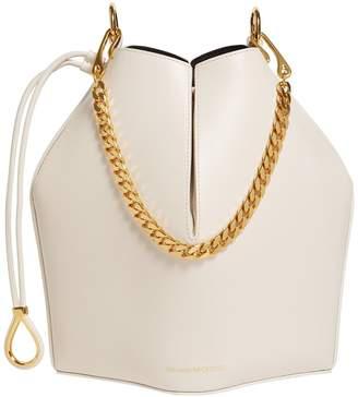 Alexander McQueen Leather Bucket Bag
