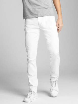 Gap EverWhite Jeans in Skinny Fit with GapFlex
