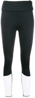 DKNY colour block leggings
