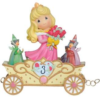 """Precious Moments Now You're Three, a Beauty You'll Always and Forever Be"""" Figurine"""