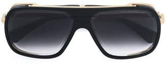 Dita Eyewear gold trim oversized sunglasses
