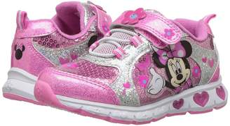 Josmo Kids Minnie Heart Bottom Sneaker Girls Shoes