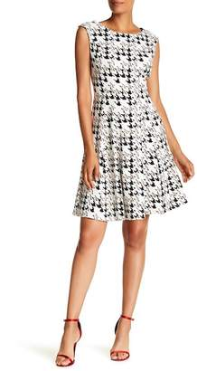 Sandra Darren Printed Dress