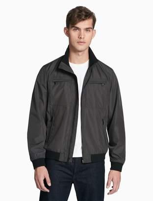 Calvin Klein lightweight 4-pocket zip jacket