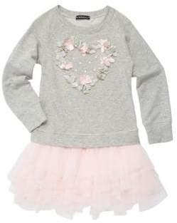 Kate Mack Baby Girl's& Little Girl's Unicorn Dreams Dress