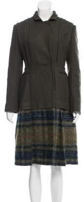Philosophy di Alberta Ferretti Longline Knit Coat