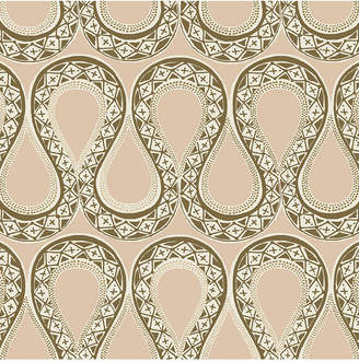Genevieve Gorder for Tempaper Sexy Serpentine Self-Adhesive Wallpaper