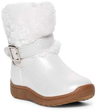 Osh Kosh OshKosh Lia Faux Fur Trim Boot (Toddler & Little Kid)