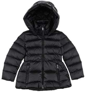 new product 9718c b623f Girls Black Quilted Jacket With Hood - ShopStyle UK