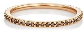 Tate Women's Champagne Diamond Thread Band-Rose Gold