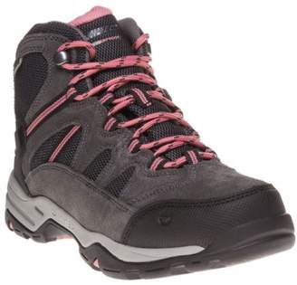 Hi-Tec New Womens Grey Bandera Suede Boots Lace Up