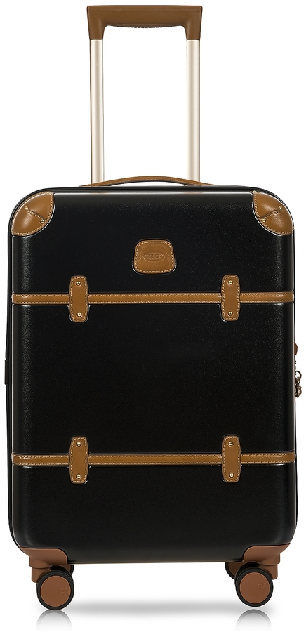 Bric's Bellagio V2.0 21′′ Black-Tobacco Carry-On Spinner Trunk