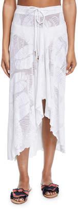 Letarte Palm Lace Coverup Skirt