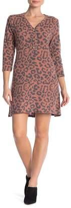 Como Vintage Super Soft Animal Print Dress