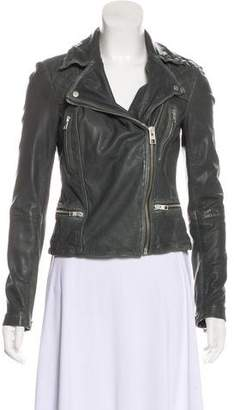 AllSaints Leather Moto Jacket