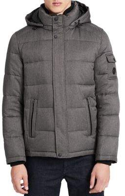 Calvin Klein Quilted Hooded Puffer Jacket