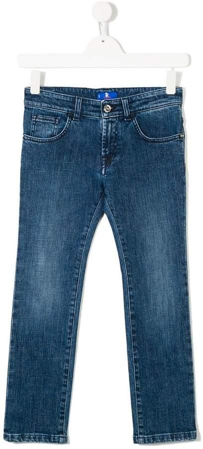 Stefano Ricci Kids regular slim-fit jeans
