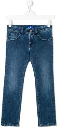 Stefano Ricci Kids regular slim-fit jeans