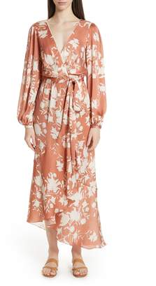 3f3965dc823 Johanna Ortiz The Greatest Land Floral Print Wrap Dress